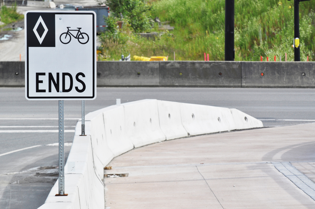 Getting involved in accidents with cyclists